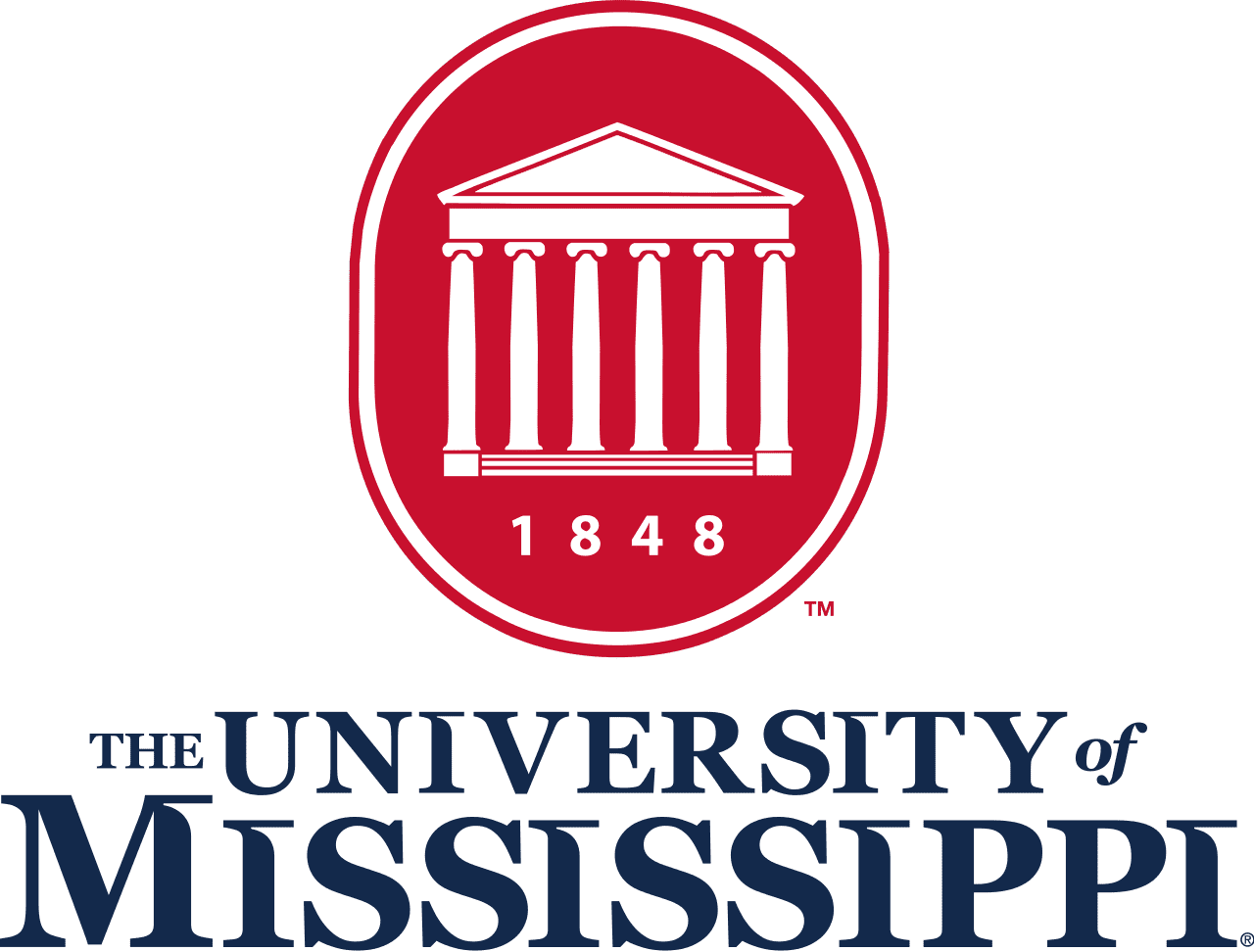 University of Mississippi Logo box
