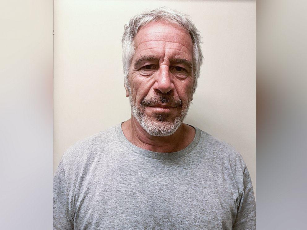 Mugshot of Jeffrey Epstein